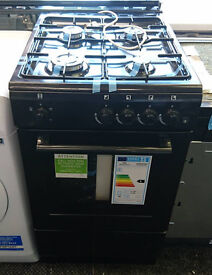 lo24 black newworld 50cm gas cooker new graded with full manufacturers warranty can be delivered