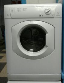 a773 white hotpoint 7kg condenser dryer comes with warranty can be delivered or collected