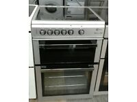 a192 silver flavel 60cm ceramic hob electric cooker comes with warranty can be delivered