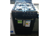 Ho24 black newworld 50cm gas cooker new graded with full warranty can be delivered or collected