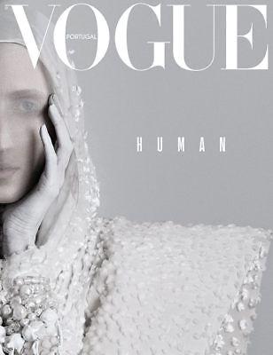Anna Cleveland cover Vogue Portugal December 2017