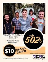 The 502's Fundraiser concert