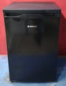 p658 black hoover under counter fridge with freezer box new graded with manufacturers warranty