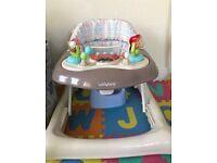 Baby walker for 25£ like new