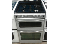 C236 silver stoves 55cm gas cooker comes with warranty can be delivered or collected