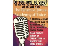 Brand New Singing Academy for Children comes to Netherfield.