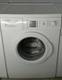 e683 white bosch 6kg 1200spin washing machine comes with warranty can be delivered or collected