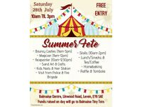Summer Fun Day and Fete
