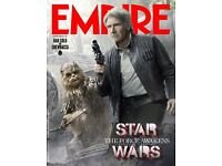 Empire magazine with 3D STAR WARS Han Solo cover - free postage