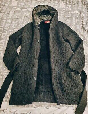 Zara Cardigan Coat Jacket Sz 38