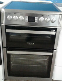 a040 double oven leisure electric cooker comes with warranty can be delivered or collected