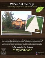 Lawn and landscape service