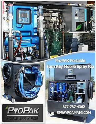 Propak Portable Mobile Spf Spray Foam Systems Rig Graco Reactor2 E-30