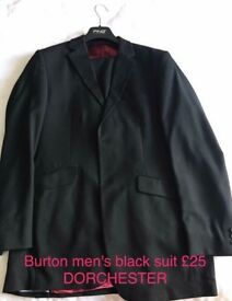 Men's burton suit