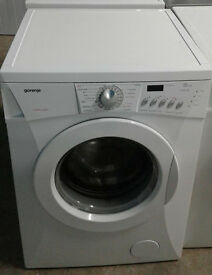 b474 white gorenje 8kg 1400spin washing machine comes with warranty can be delivered or collected