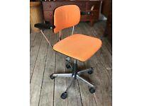 Orange Office Swivel Chair