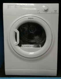 I092 white hotpoint 7kg B rated vented dryer new with manufacturers warranty can be delivered