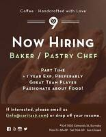 Baker / Pastry Chef