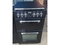 n276 black stoves 50cm ceramic cooker comes with warranty can be delivered or collected
