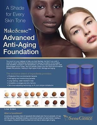 Advanced Foundation (MakeSense by SeneGence Advanced Anti-Aging Foundation Translucence loose powder )