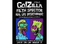 The Pumpkin Punk In Strawberry Serenade with Go!Zilla Italy and Filth Spector