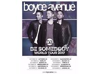 2 x Boyce Avenue Tickets London Royal Albert Hall