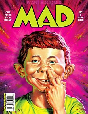 MAD MAGAZINE #1 FIRST ISSUE NEW APRIL 2018 DONALD TRUMP USUAL GANG OF IDIOTS