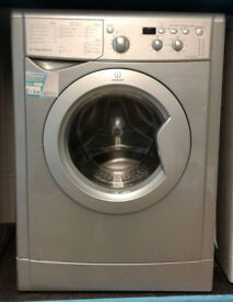e441 silver indesit 7kg 1400spin washing machine comes with warranty can be delivered or collected