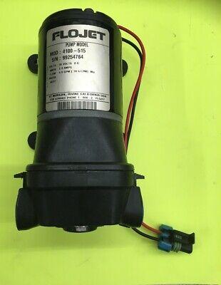 Flojet Pump Assy Water Mod 4100-51536 V Dc2.3 Amps 4.9 Gpm 18.5 Lmp Ma