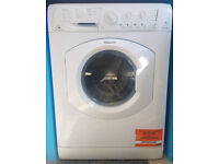 a467 white hotpoint 7kg 1500spin washer dryer comes with warranty can be delivered or collected