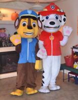 Paw Patrol Mascots (just costumes, no humans included) RENTAL