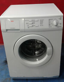 p543 white aeg 6kg 1600spin washing machine comes with warranty can be delivered or collected