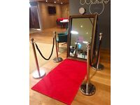 Magic Selfie Mirror Photo-Booth for Weddings & Events - Yorkshire,Lincolnshire,Lancashire,Merseyside