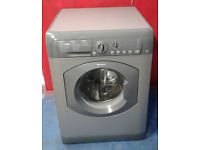 b558 graphite hotpoint 8kg 1500spin washing machine comes with warranty can be delivered