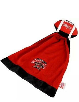 Maryland Terps Plush NCAA Football Snuggle Ball with Attached Blanket - Ncaa Snuggle Blanket