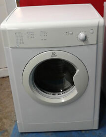 p063 white indesit 7kg vented dryer comes with warranty can be delivered or collected