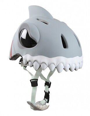 """Fahrradhelm für Kinder """"White Shark"""" von Crazy Safety - Kinderhelm"""