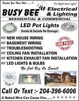 POT LIGHTS INSTALLATION ( ELECTRICIAN)