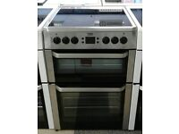 c427 silver beko 60cm electric cooker comes with warranty can be delivered or collected