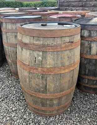 WHISKEY 40 GALLON OAK BARREL - IDEAL GARDEN RAIN WATER BUTT - Wooden Whisky Cask