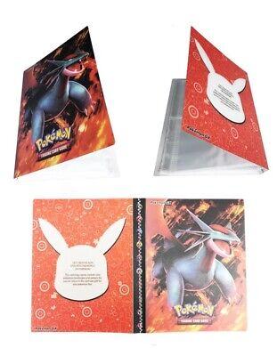 Pokemon Pikachu Binder Portfolio Pocket Album Card Xy Portfolio Holder 240 cards ()