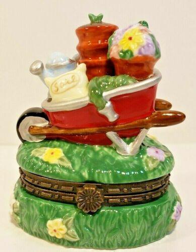 Cooking Club of America Trinket Box~ GARDENER