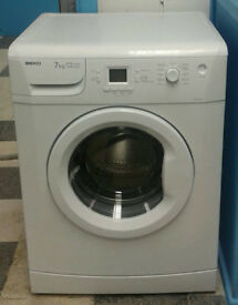 a389 white beko 7kg 1400spin A+A rated washing machine comes with warranty can be delivered