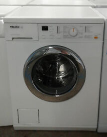 A237 white miele 6kg 1400spin washing machine comes with warranty can be delivered or collected
