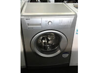 b387 silver beko 8kg 1200spin A+ washing machine comes with warranty can be delivered or collected