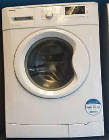a485 white beko 7kg 1500spin A** washing machine comes with warranty can be delivered or collected