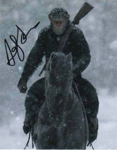Andy Serkis Planet of the Apes Autographed Signed 8x10 Photo COA #S9