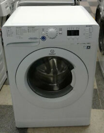 e042 white indesit 8kg 1600spin A++ rated washing machine comes with warranty can be delivered