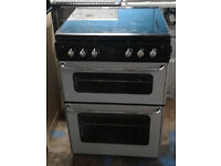 a117 silver stoves 60cm gas cooker comes with warranty can be delivered or collected