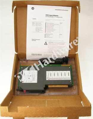 New Allen Bradley 1771-ir D Plc-5 Analog Rtd Input Module 6-ch 3-wire Rtd